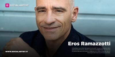 """Eros Ramazzotti, sbarca in America il """"Vita ce n'è World Tour"""""""