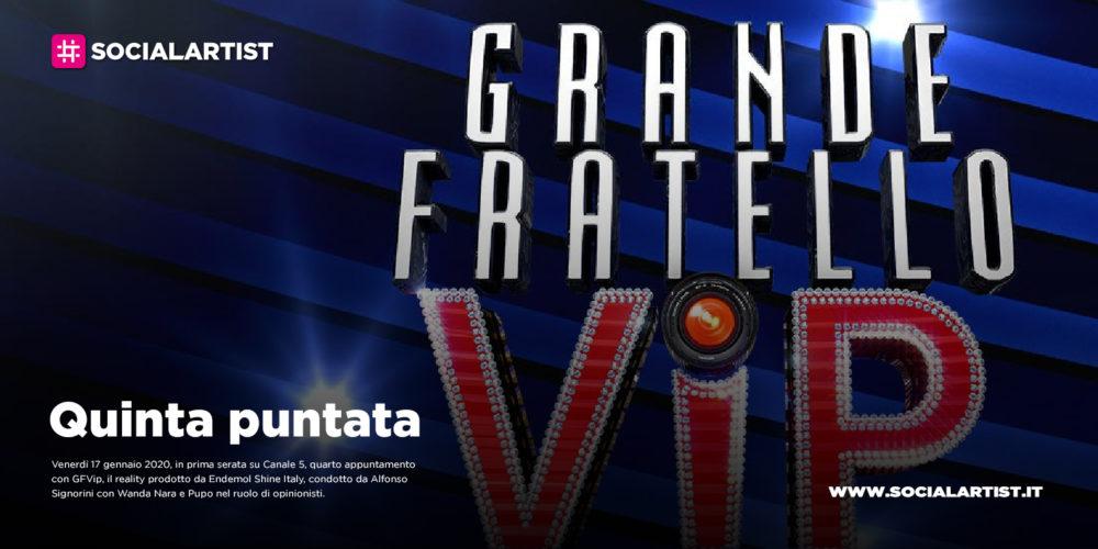 GFVip, quarto appuntamento in prima serata Canale 5