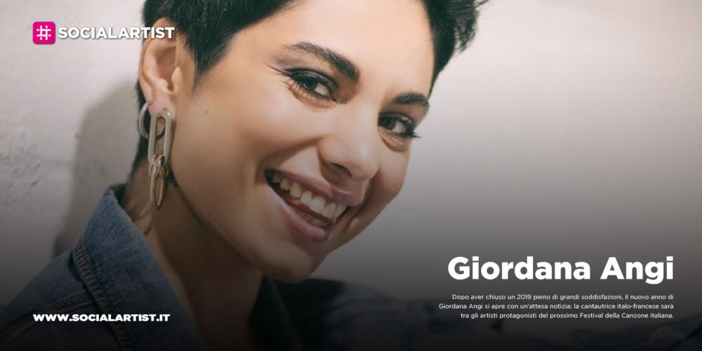 """Giordana Angi, in gara al Festival di Sanremo con il brano """"Come mia madre"""""""