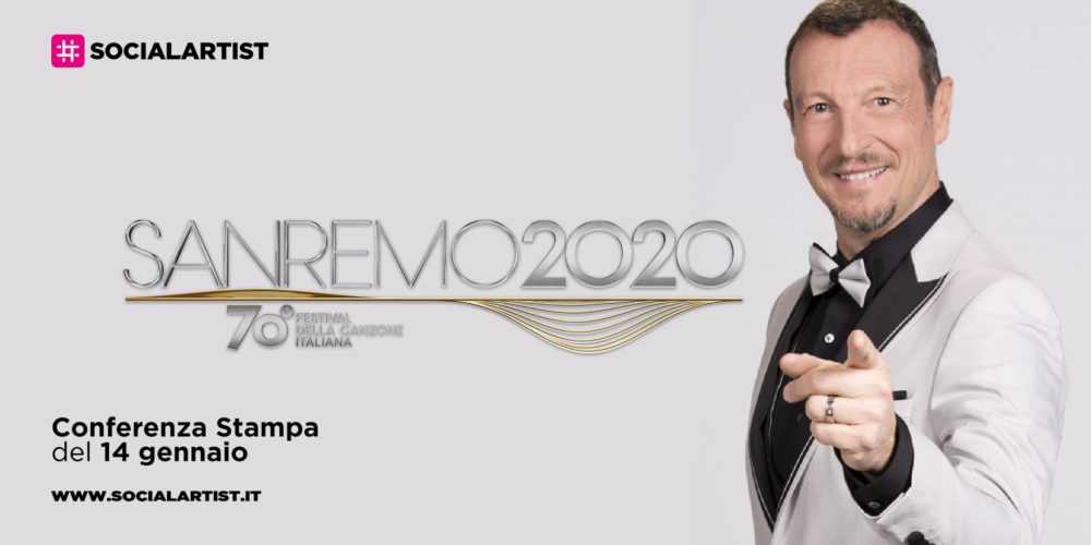 Sanremo 2020, conferenza stampa di presentazione (14 gennaio 2020)
