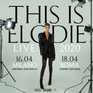 Elodie This is Elodie Tour