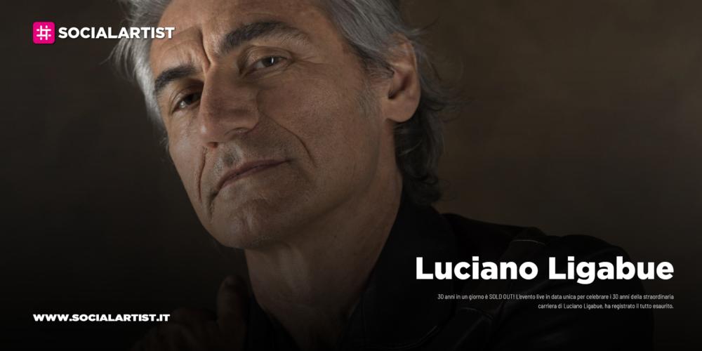 """Luciano Ligabue, il live """"30 anni in un giorno"""" è SOLD OUT"""