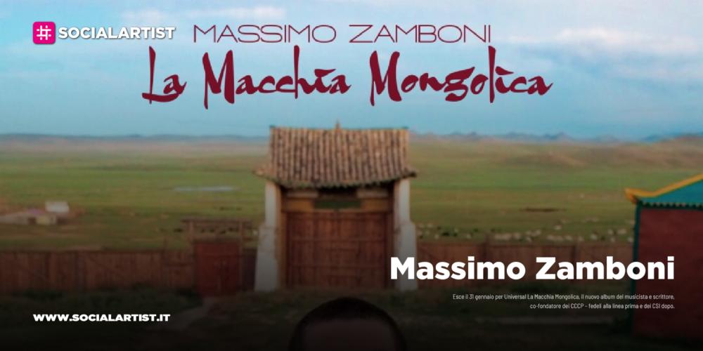 """Massimo Zamboni, dal 31 gennaio il nuovo album """"Macchia Mongolica"""""""