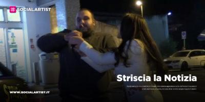 Striscia la Notizia, le immagini dell'aggressione subita da Erica senza k