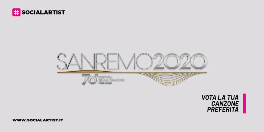 Sanremo 2020, vota la tua canzone preferita