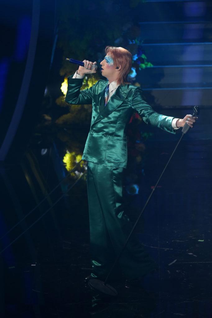 Achille Lauro David Bowie