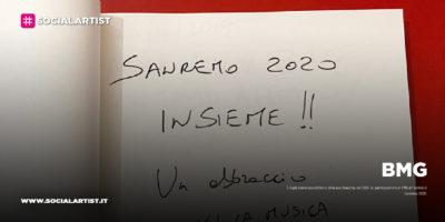 BMG, sei brani al Festival di Sanremo 2020