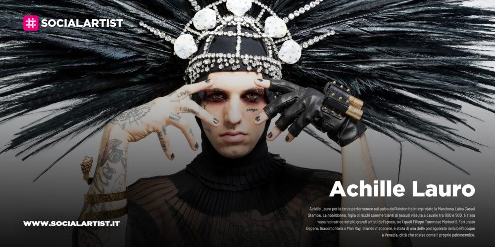 """Achille Lauro, il track by track del nuovo album """"1990"""""""