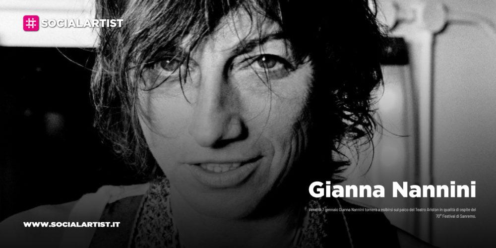 Sanremo 2020, Gianna Nannini super ospite venerdì 7 febbraio