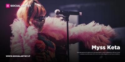 M¥SS KETA, live il 18 e 19 aprile a Tokyo al  festival Italia, amore mio!