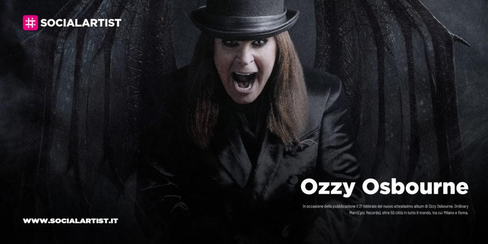 "Ozzy Osbourne, dal 21 febbraio il nuovo album ""Ordinary Man"""