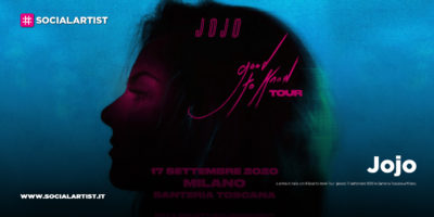 "Jojo, le date italiane del ""Good to know tour 2021"""