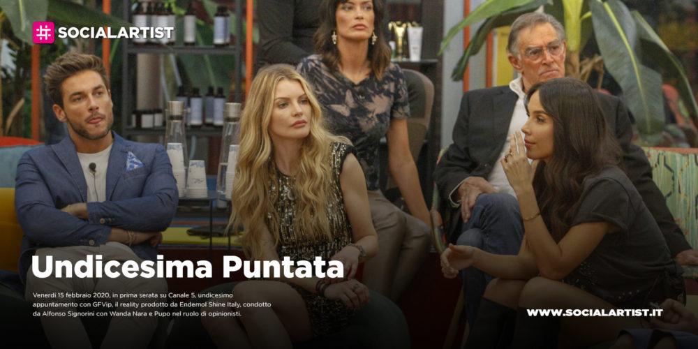 GFVip, undicesimo appuntamento in prima serata Canale 5