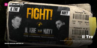 """Il Tre, dal 28 febbraio il nuovo singolo """"Fight!"""" feat. Nayt"""
