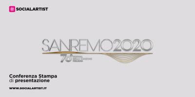 Sanremo 2020, la conferenza stampa di presentazione