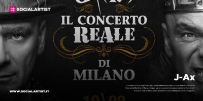 """J-Ax, annunciata la data live """"Il concerto ReAle di Milano"""""""