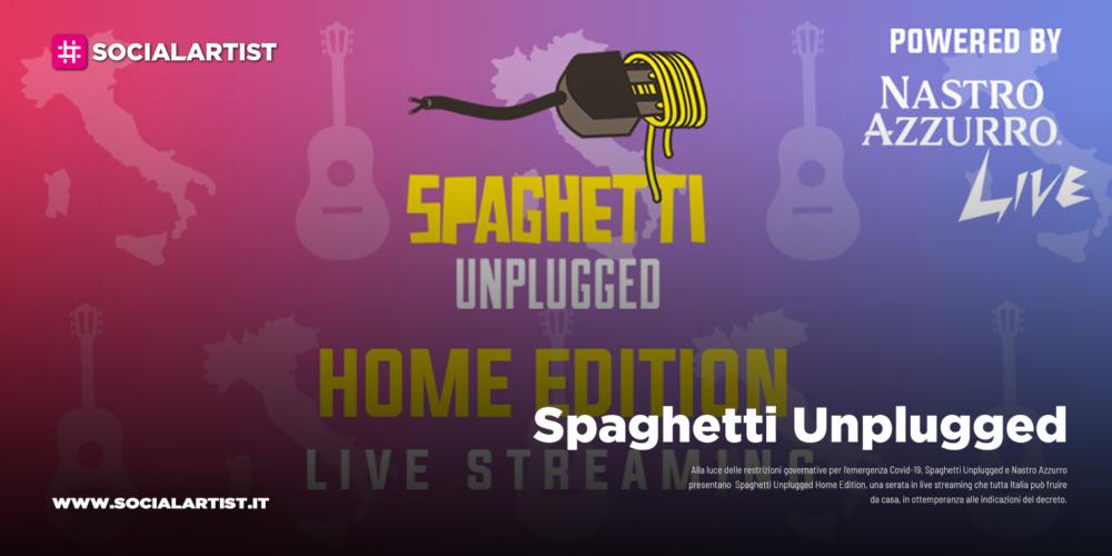Spaghetti Unplugged, domenica 15 marzo live in streaming