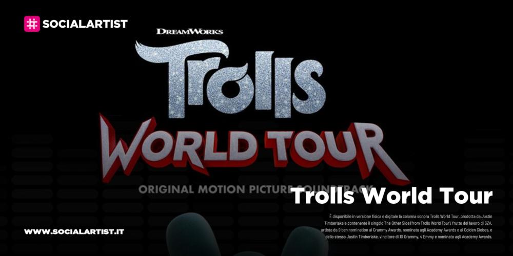 Trolls World Tour, dal 13 marzo la colonna sonora prodotta da Justin Timberlake