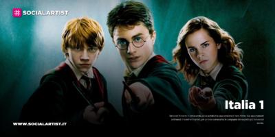 Italia 1, prende il via la saga completa di Harry Potter