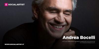 Andrea Bocelli, rappresenterà l'Italia per la CBS