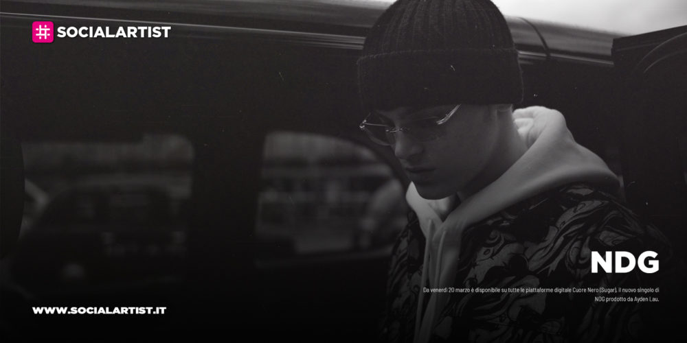 """NDG, dal 20 marzo il nuovo singolo """"Cuore nero"""""""