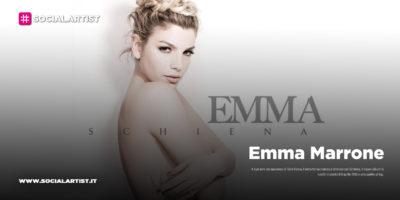 """Emma Marrone, dal 9 aprile il nuovo album """"Schiena"""""""