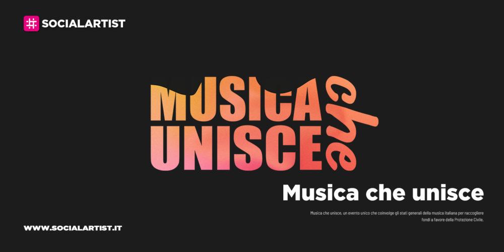 Musica che unisce, il grande progetto per sostenere la Protezione Civile