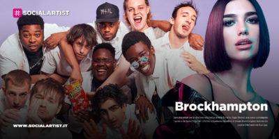 "Brockhampton, dal 13 marzo il nuovo singolo ""Sugar (Remix)"" feat. Dua Lipa"
