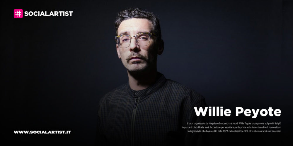 """Willie Peyote, dal 25 ottobre il nuovo album """"Iodegradabile"""""""