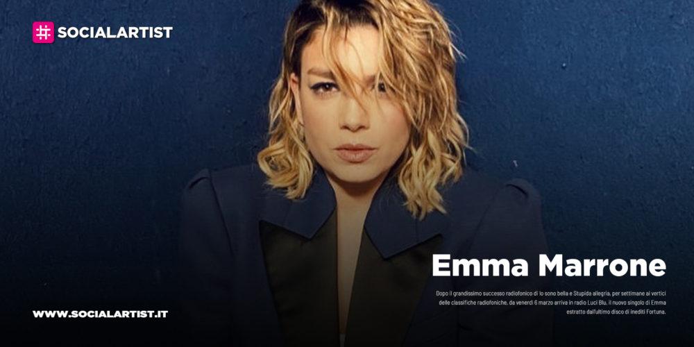 """Emma Marrone, dal 6 marzo il nuovo singolo """"Luci Blu"""""""