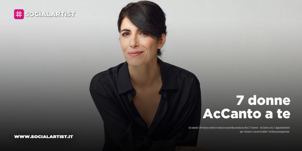 7 donne – AcCanto a te, sabato 11 aprile lo speciale su Giorgia