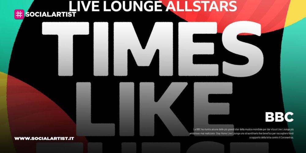 """BBC, le più grandi star planetarie riunite per """"Stay Home Live Lounge"""""""