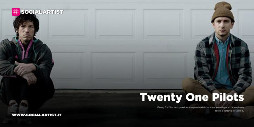 "Twenty One Pilots, dal 10 aprile il nuovo singolo ""Level of Concern"""