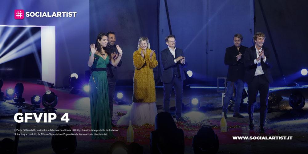 GFVip, Paola di Benedetto vince la quarta edizione