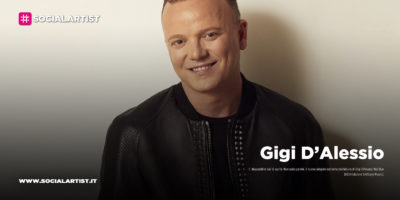 """Gigi D'Alessio, dal 10 aprile il nuovo singolo """"Non solo parole"""" feat. Giusy Ferreri"""