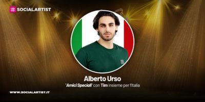 Amici Speciali con Tim insieme per l'Italia, la scheda di Alberto Urso