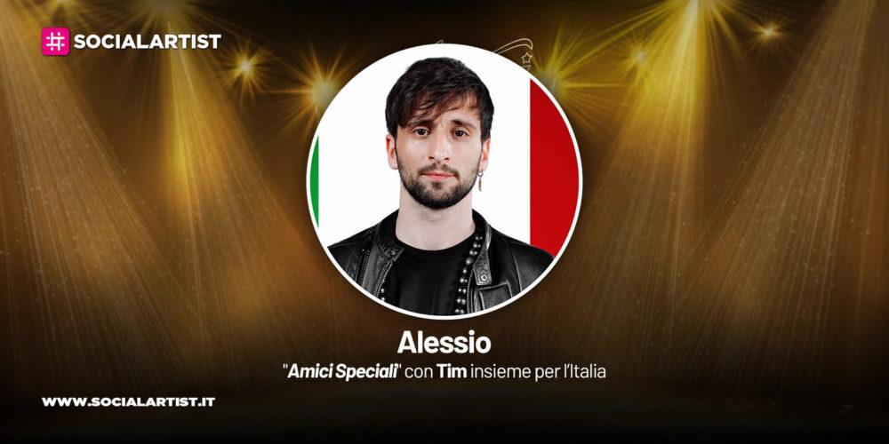 Amici Speciali con Tim insieme per l'Italia, la scheda di Alessio Gaudino