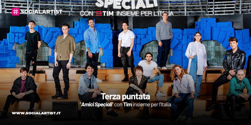 """""""Amici Speciali"""" con Tim insieme per l'Italia, il riassunto della terza puntata"""