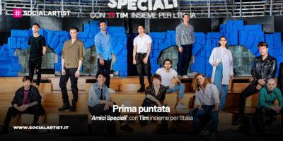 """""""Amici Speciali"""" con Tim insieme per l'Italia, il riassunto della prima puntata"""