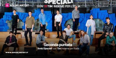 """""""Amici Speciali"""" con Tim insieme per l'Italia, il riassunto della seconda puntata"""