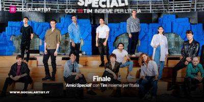 """""""Amici Speciali"""" con Tim insieme per l'Italia, il riassunto della finale"""