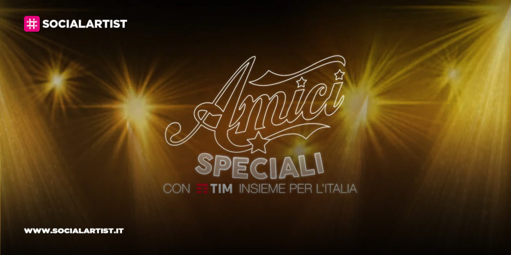 """""""Amici Speciali"""" con Tim insieme per l'Italia, quattro prime serate all'insegna della solidarietà"""