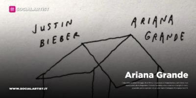 """Ariana Grande, da venerdì 8 maggio il nuovo singolo """"Stuck Whit U"""" con Justin Bieber"""
