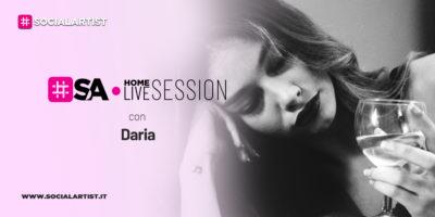 SA Home Live Session | Daria | Prima Serie
