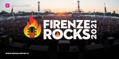 Firenze Rocks 2021, tutto il calendario della nuova edizione