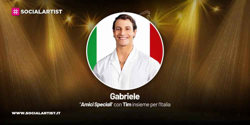 Amici Speciali con Tim insieme per l'Italia, la scheda di Gabriele Esposito