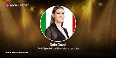Amici Speciali con Tim insieme per l'Italia, la scheda di Gaia Gozzi
