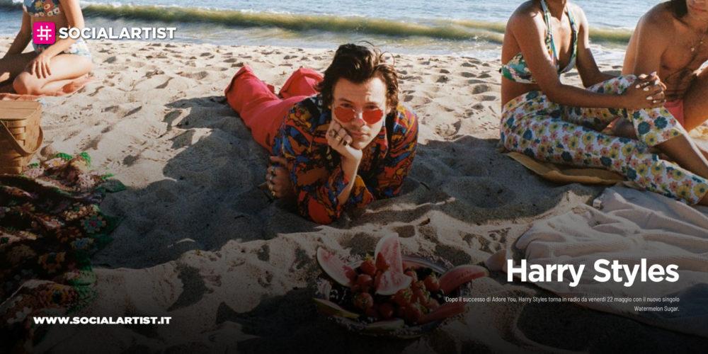 """Harry Styles, dal 22 maggio il nuovo singolo """"Watermelon Sugar"""""""