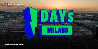 I-DAYS Milano 2021, annunciato il calendario della nuova edizione