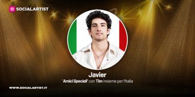 Amici Speciali con Tim insieme per l'Italia, la scheda di Javier Rojas